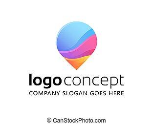 Creative abstract vector logo