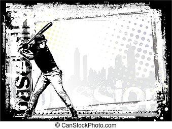baseball 4 - baseball poster background