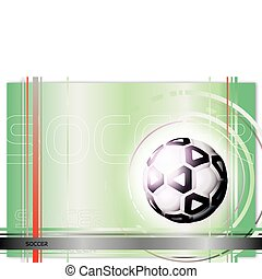 soccer background in the vectors