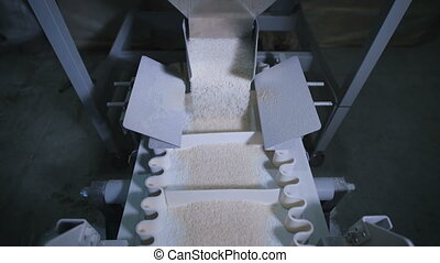 Factory for packing of cereals and other food products....