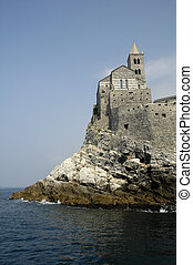 St Peters Church in Portovenere - St Peters church is a...