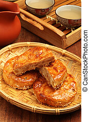Meat Pasties - Taiwan's  traditional cake - Meat Pasties