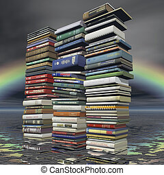 books - digital visualization of books