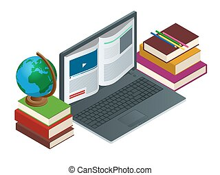 IT Communication or e-learning or internet network as...