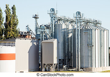 Agricultural Silos - Building Exterior, Storage and drying...