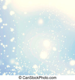 Defocused glitter abstract bokeh background Christmas...