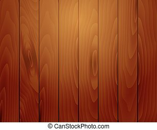 Vector wooden boards