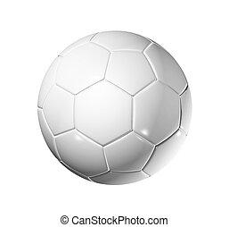 Soccer football ball - 3D blank soccer ball isolated on...