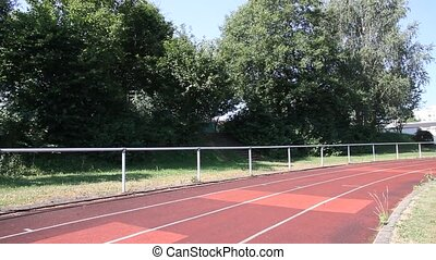 sprinting athlet - athlet sprinting in track and field