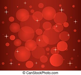 Christmas pattern in red color