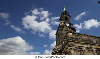 Hofkirche--Dresden, Sachsen,Germany - Hofkirche or Cathedral...