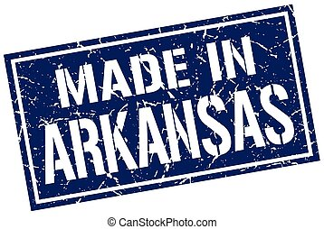 made in Arkansas stamp