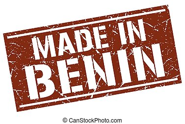 made in Benin stamp