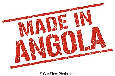 made in Angola stamp