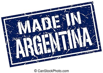 made in Argentina stamp