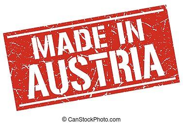 made in Austria stamp