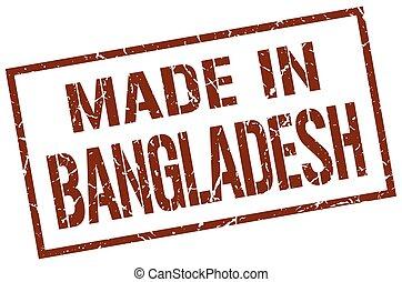 made in Bangladesh stamp
