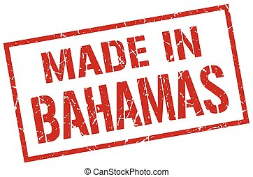 made in Bahamas stamp