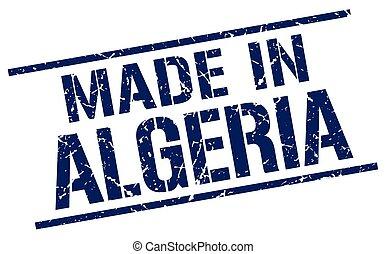 made in Algeria stamp
