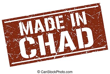 made in Chad stamp