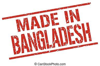 tłoczyć, Robiony, Bangladesz