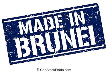made in Brunei stamp