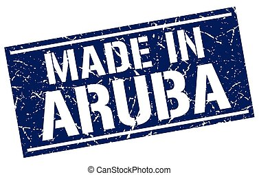 made in Aruba stamp