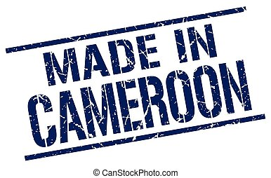 made in Cameroon stamp