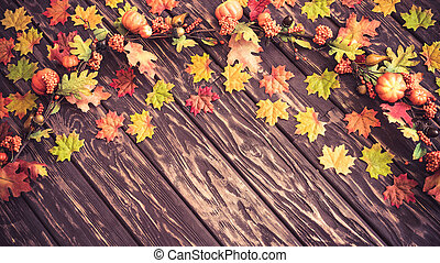 Autumn Thanksgiving Holiday