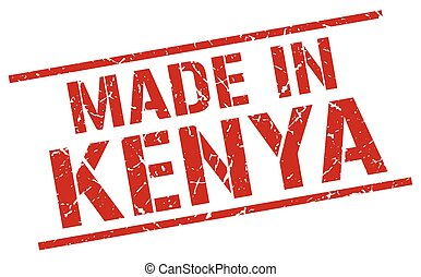 made in Kenya stamp