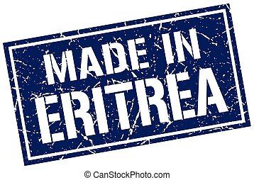 made in Eritrea stamp