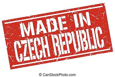 made in Czech Republic stamp