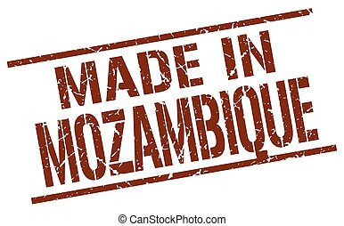 made in Mozambique stamp