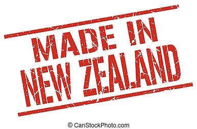 made in New Zealand stamp