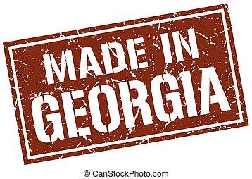 made in Georgia stamp