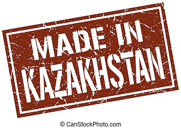 made in Kazakhstan stamp