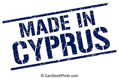 made in Cyprus stamp