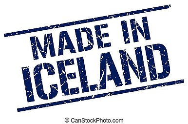 made in Iceland stamp
