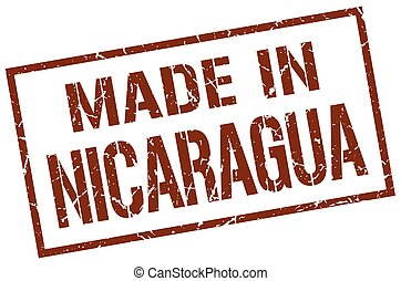 made in Nicaragua stamp