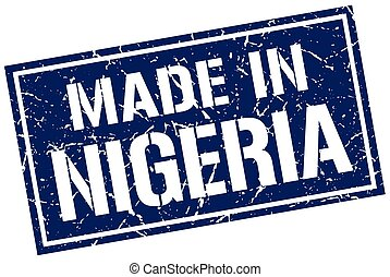 made in Nigeria stamp