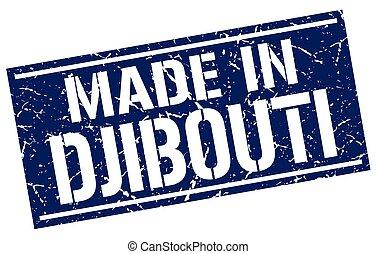 made in Djibouti stamp
