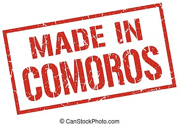 made in Comoros stamp