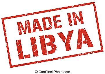 made in Libya stamp