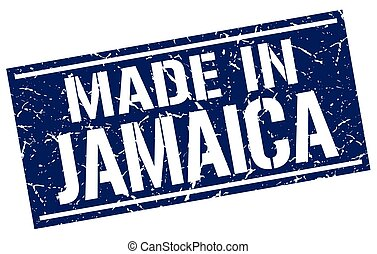 made in Jamaica stamp