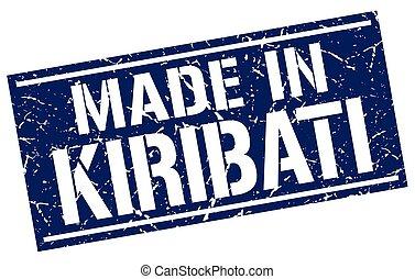 made in Kiribati stamp