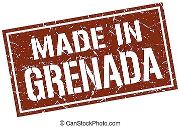 made in Grenada stamp