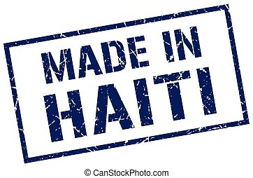 made in Haiti stamp
