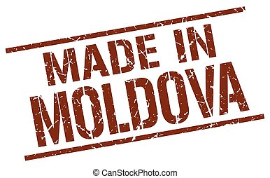 made in Moldova stamp