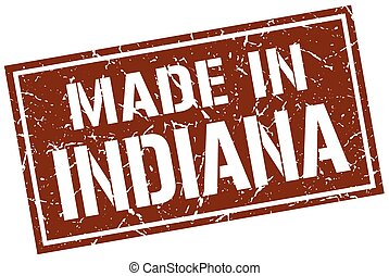 made in Indiana stamp