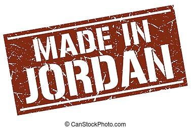 made in Jordan stamp